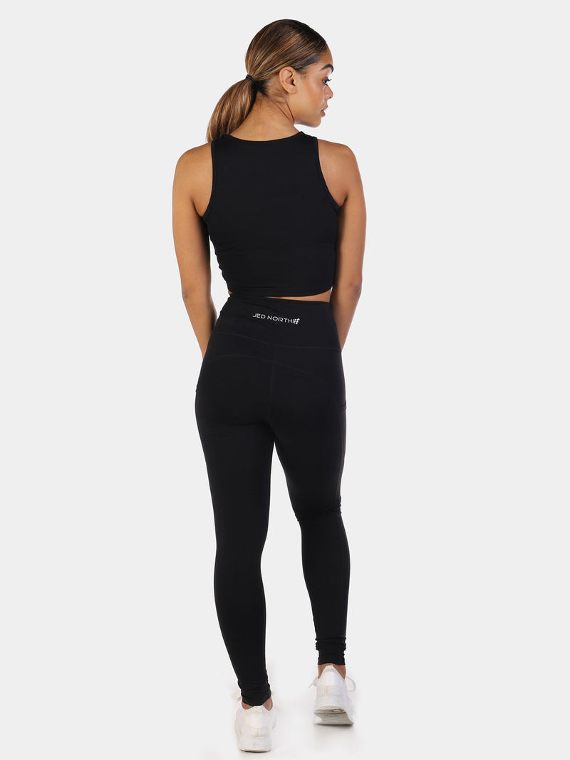 HATHA TOP - BLACK | VAAMSPORT