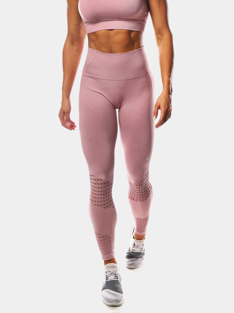 JED NORTH LUXE LEGGINGS - PINK | VAAMSPORT