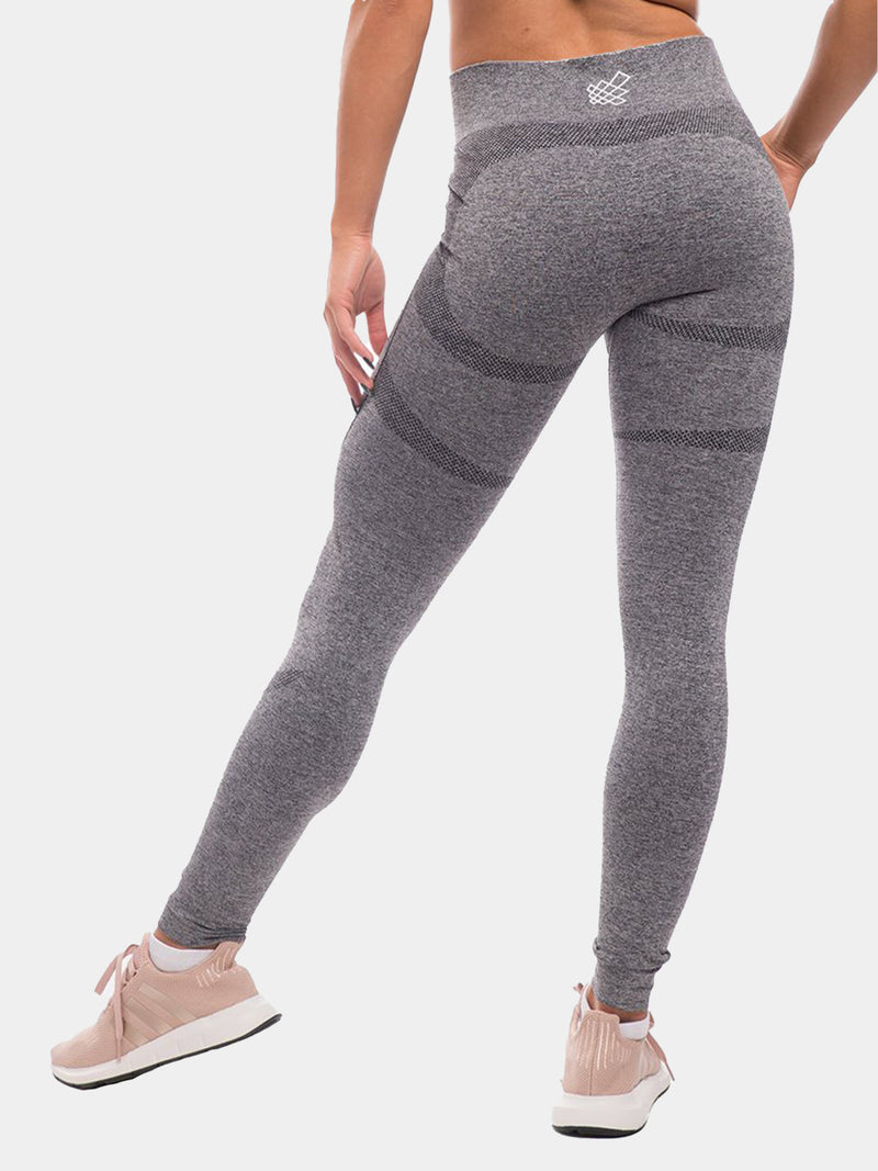 JED NORTH SUPPLE SEAMLESS LEGGINGS - GRAY | VAAMSPORT