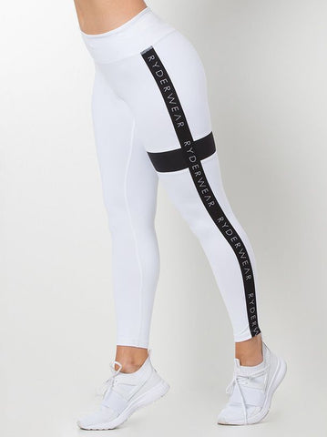 ELEVATE TIGHTS WHITE | VAAMSPORT