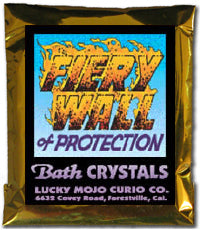 FIERY WALL OF PROTECTION BATH CRYSTALS