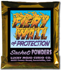 FIERY WALL OF PROTECTION SACHET POWDERS