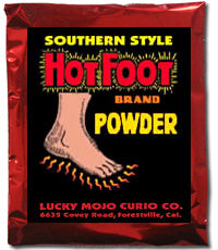 HOT FOOT SACHET POWDERS (ALSO KNOWN AS DRIVE AWAY OR MOVING)