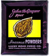 JOHN THE CONQUEROR INCENSE POWDERS
