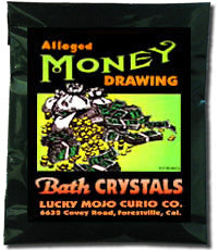 MONEY DRAWING BATH CRYSTALS
