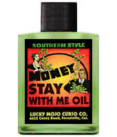 MONEY STAY WITH ME OIL