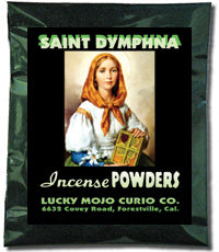 SAINT DYMPHNA INCENSE POWDERS