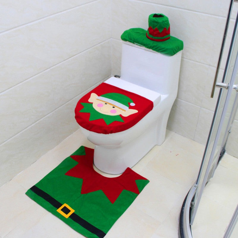 CheermasTM Toilet Seat Cover Rug