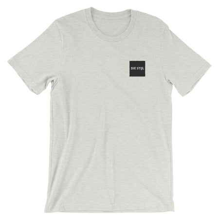Small Embroidered logo ash tee