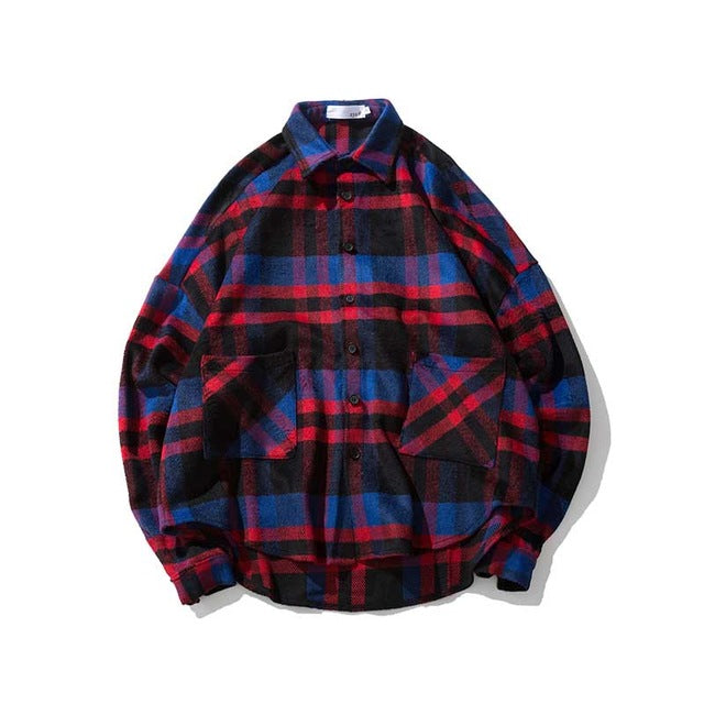 Plaid Flannel Shirt (2variants)