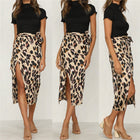Leopard Print Skirt Ladies