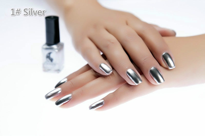 Women\'s Fashion New Metallic Mirror Nail Polish Sexy Color Nail ...