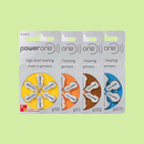 Hearing Aid Batteries - Power One - All Sizes
