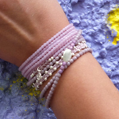Hippiearmband in Kombination - Hippie style Onlineshop