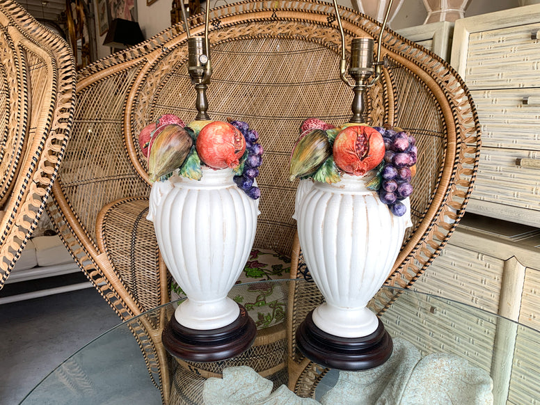 Pair of Fruity Delight Lamps