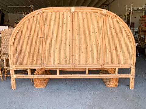 Split Bamboo King Headboard