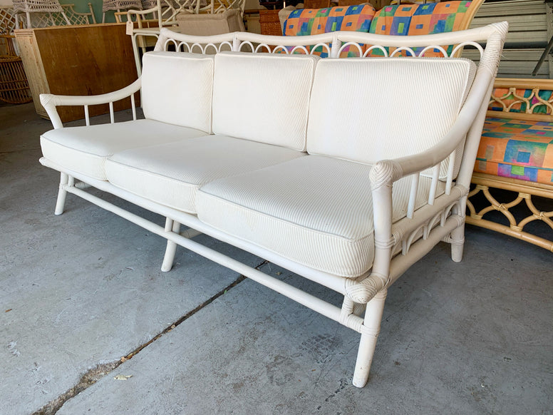 Palm Beach Chic Ficks Reed Couch
