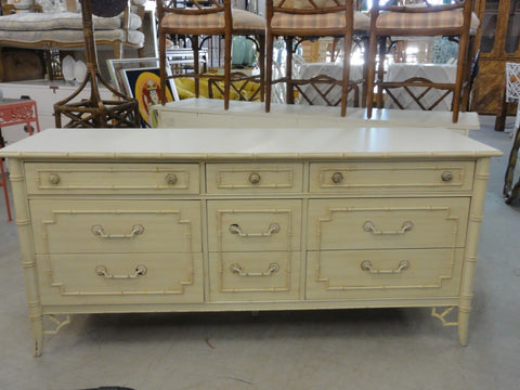 Palm Beach Faux Bamboo Dresser