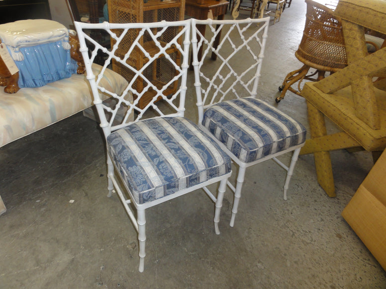Faux Bamboo Phyllis Morris Patio Chair