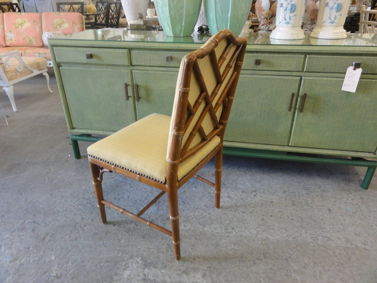 Upholstered Chippendale Chair