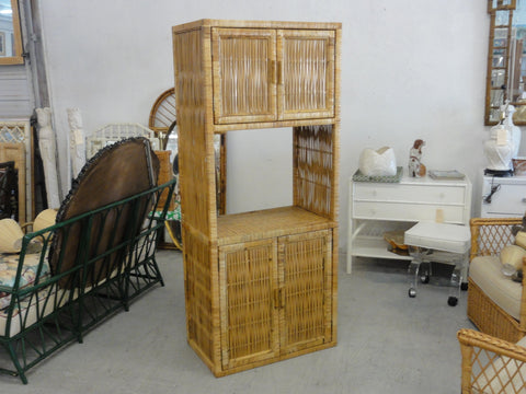 Island Style Rattan Cabinet