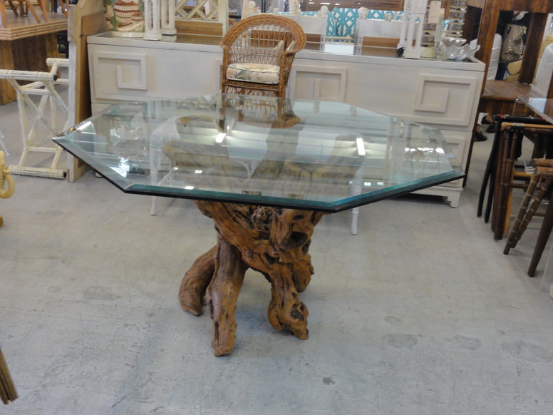 Mid Century Modern Grapevine Dining Table