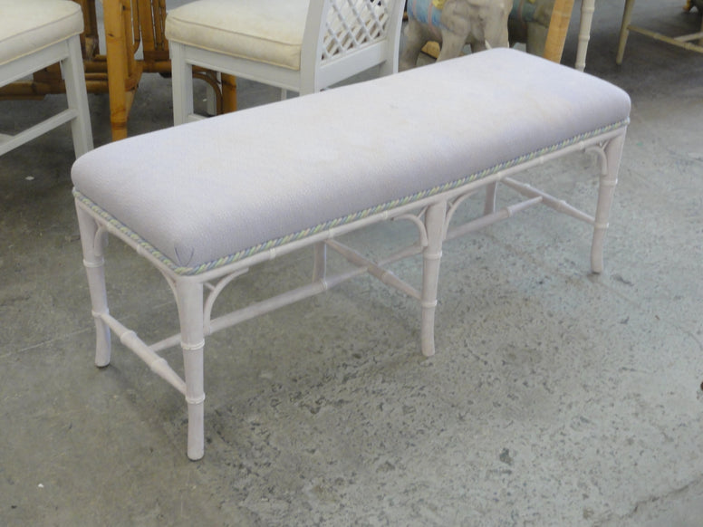 Palm Beach Faux Bamboo Bench