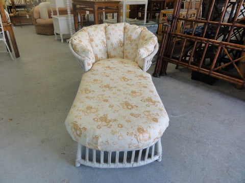 Island Style Rattan Chaise Lounge