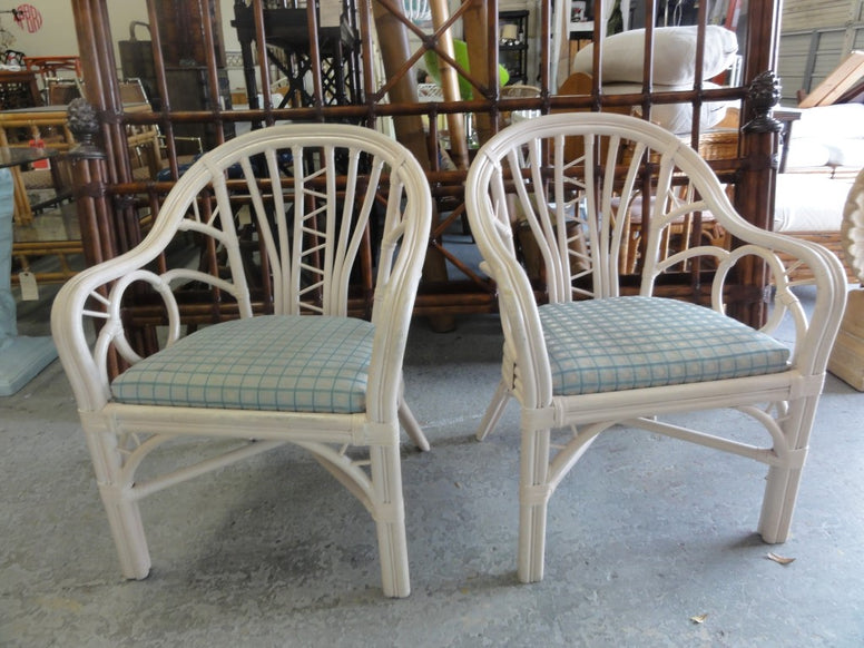 Pair of Island Style Club Chairs