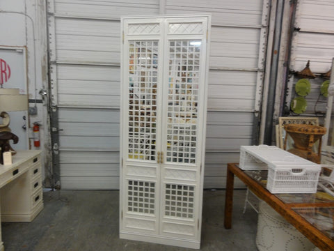 Palm Beach Style Mirrored Cabinet