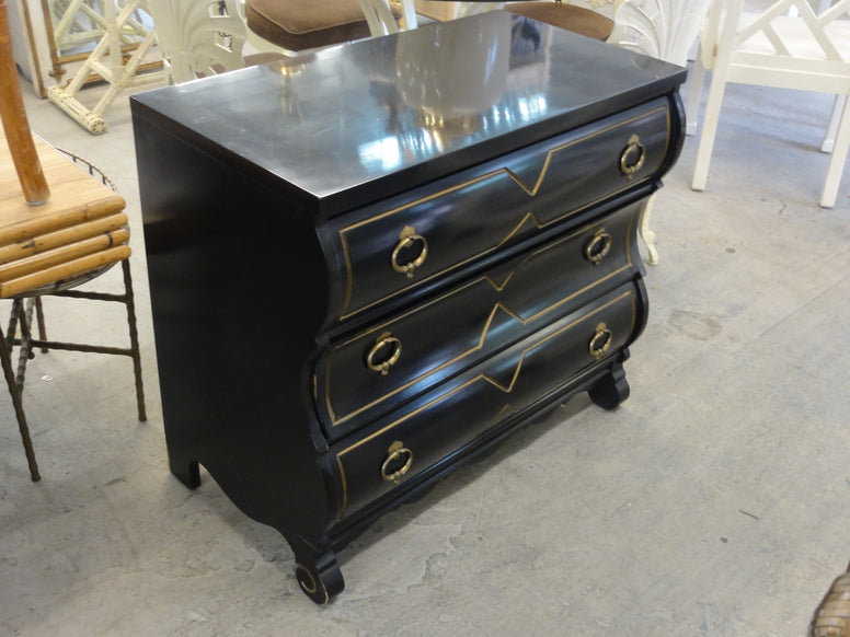 Hollywood Regency Kent Coffey Chest