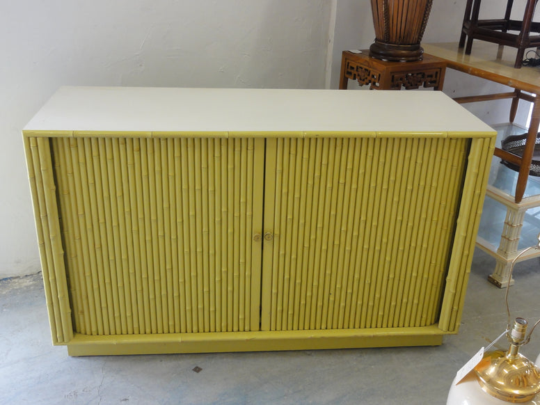 50's Ficks Reed Faux Bamboo Bar