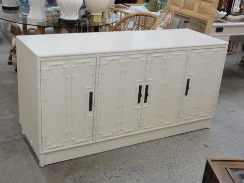 Palm Beach Faux Bamboo Credenza