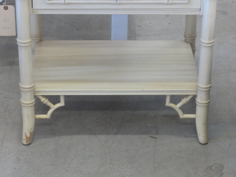 Palm Beach Faux Bamboo Nightstand