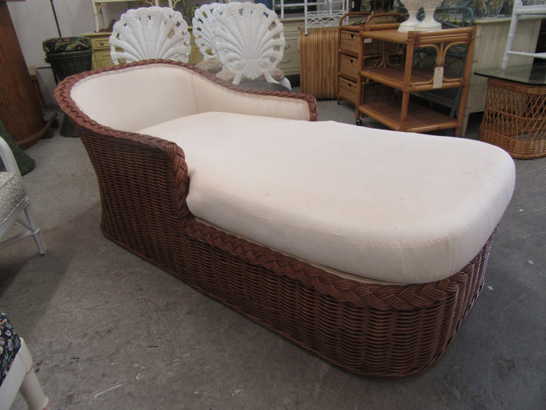 Island Style Braided Chaise Lounge