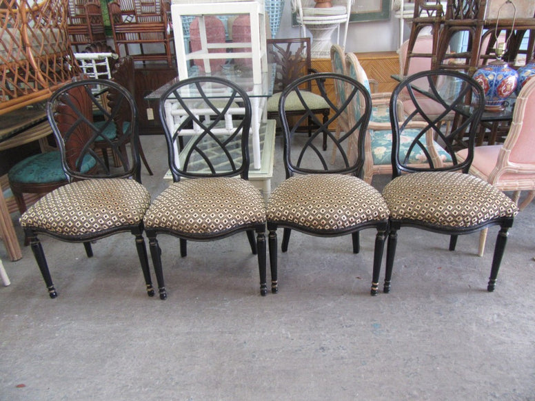 Set of 4 Chippendale Side Chairs