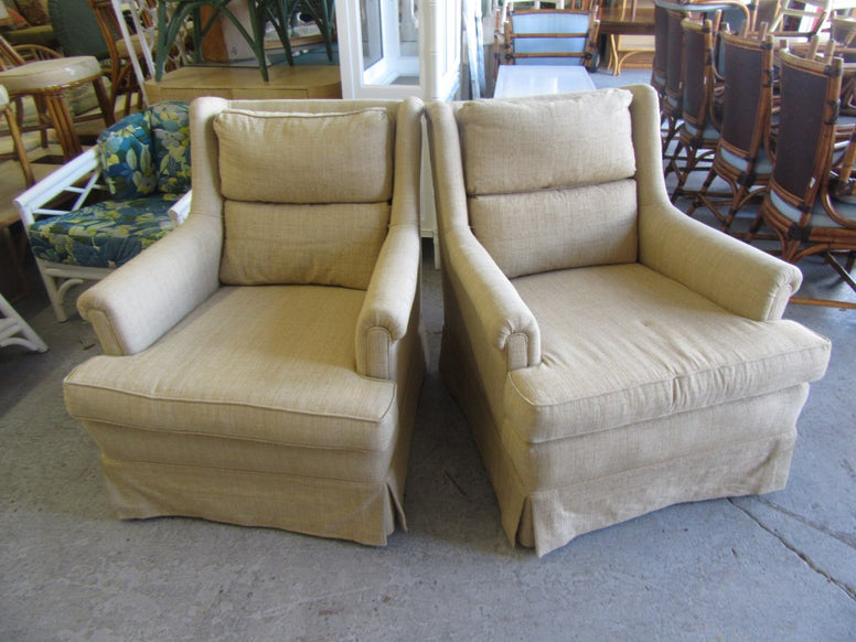 Upholstered Occasional Chairs & ottoman