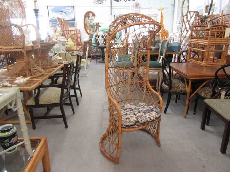Pair of McGuire Target Style Chairs