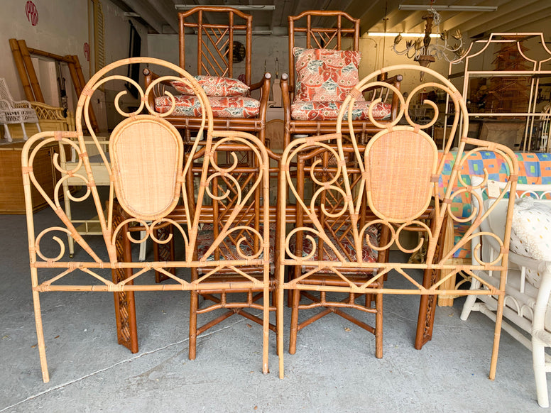 Italian Deutch Chippendale Dining Set