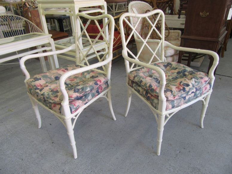 Pair of Chippendale Sweetheart Chairs
