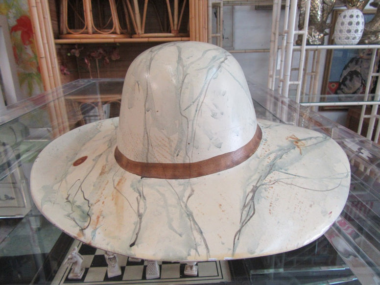 Carved Safari Hat