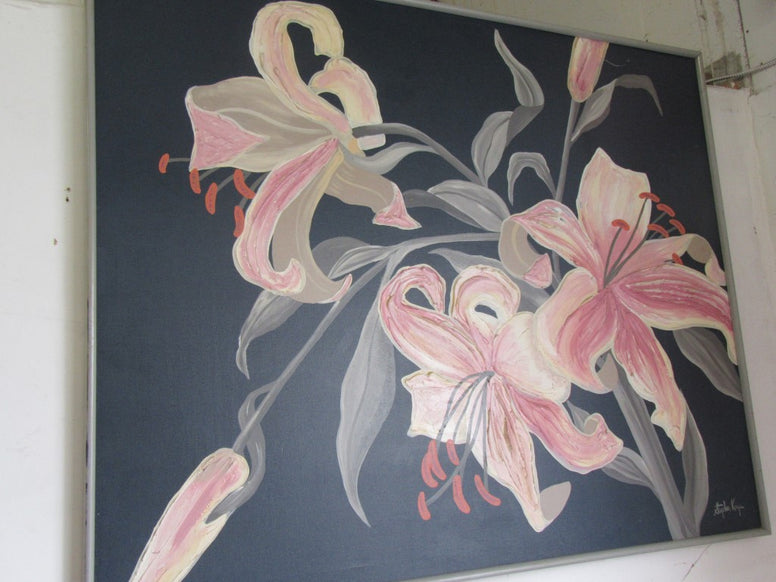 Stephen Kaye Lily Painting