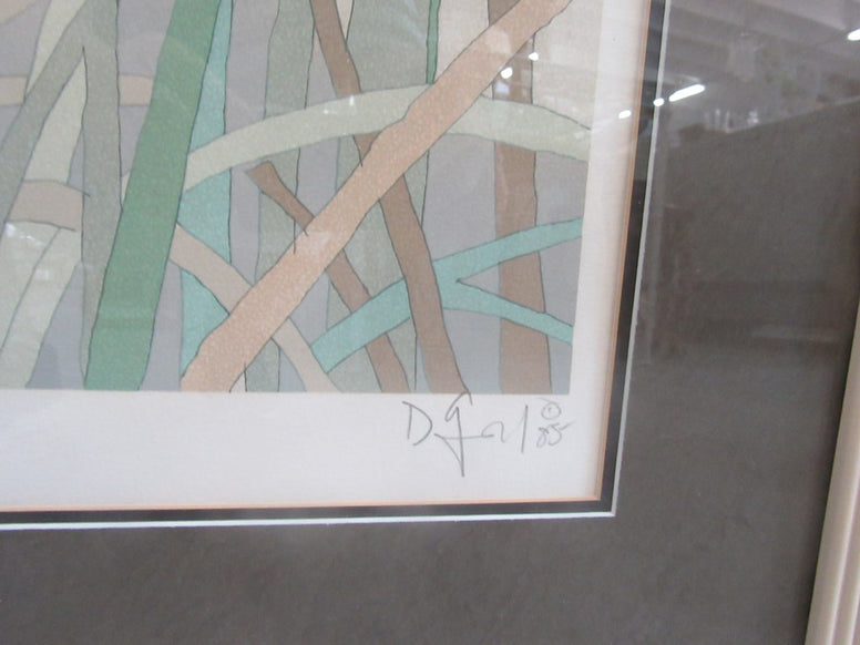 Great Blue Heron signed Limited  Litho
