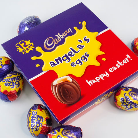 Personalised Cadbury's Creme Eggs! Great for Easter!