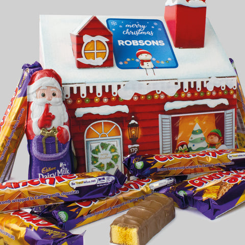 Personalised Cadbury Santa's Grotto Hampers!
