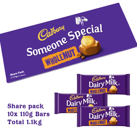 Personalised Cadbury Share Packs!