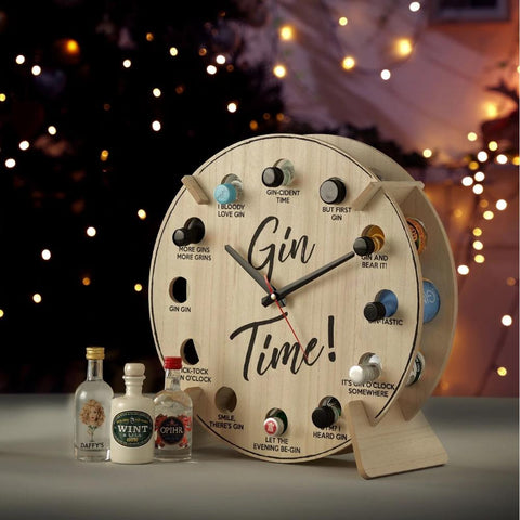 Gin Time Clock-OurPersonalisedGifts.com