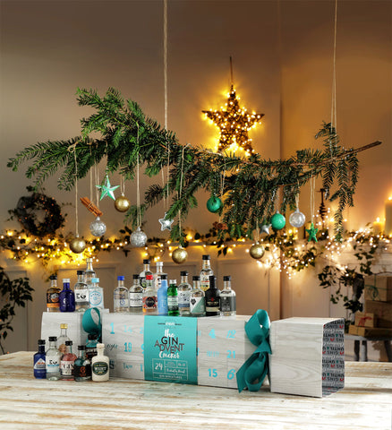 Luxury Gin Advent Calendar Cracker-OurPersonalisedGifts.com