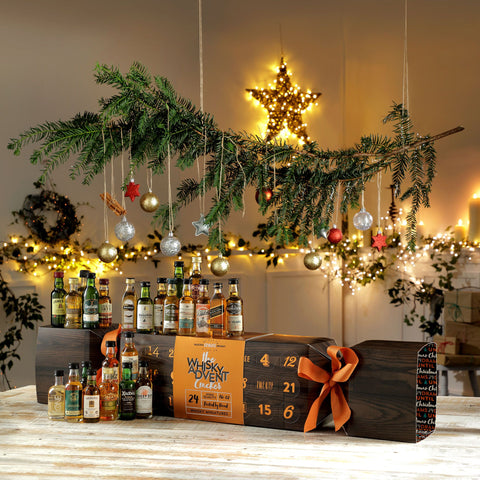 Luxury Whisky Advent Calendar Cracker-OurPersonalisedGifts.com