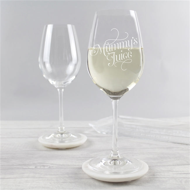 Mummy's Juice Wine Glass-OurPersonalisedGifts.com